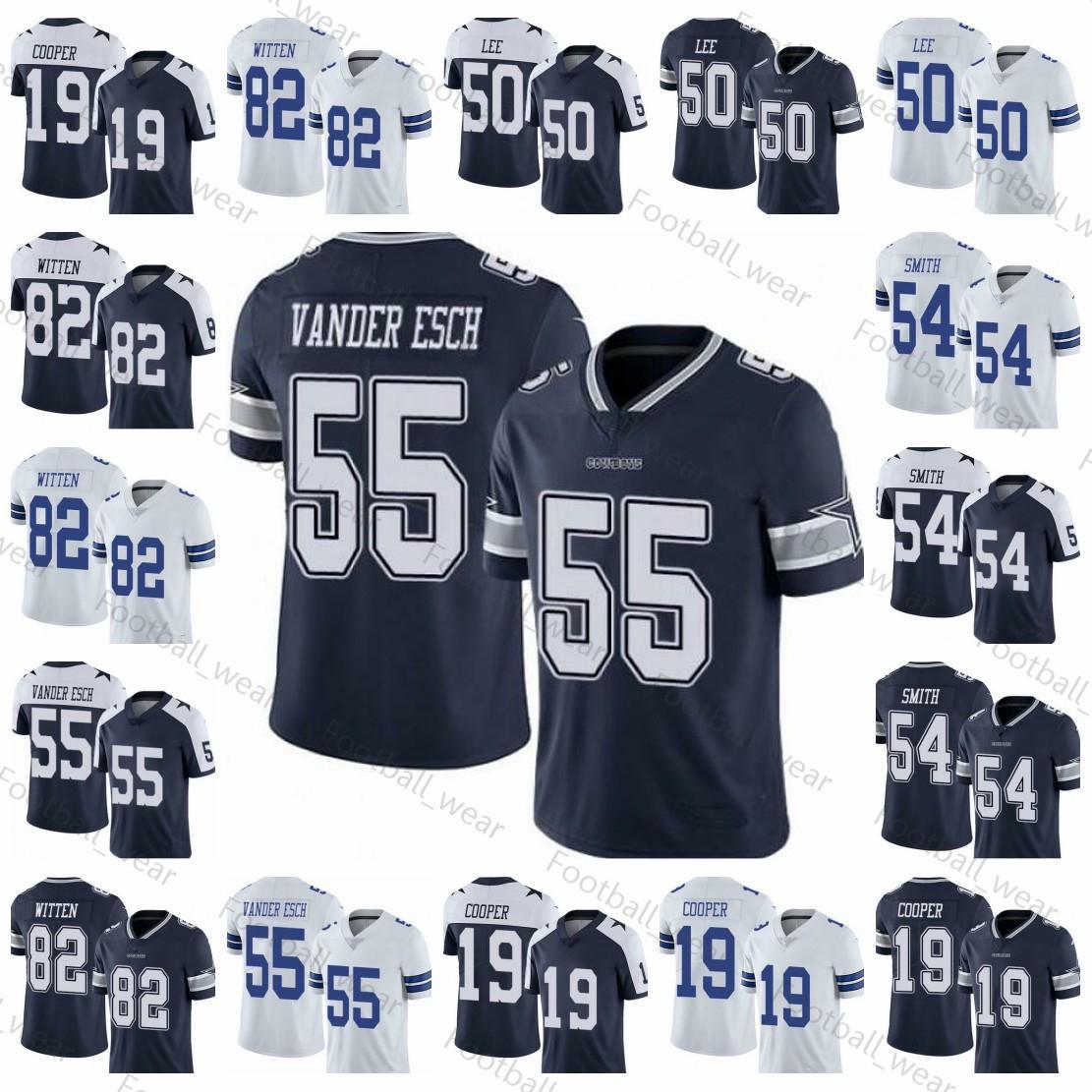 new concept a655a 892d2 Men s Youth Dallas 54 Jaylon Smith Cowboys Jersey Jason Witten Leighton  Vander Esch Women Sean Lee Amari Cooper %Tue Football Jerseys