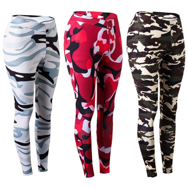 Camuflaje Mujeres Pantalones De Entrenamiento De Secado Rápido Cintura Alta  Pantalones Flexibles Transpirables Gimnasio Culturismo Jogger Tight Nx A   37.42 ... 0ca7730429d83
