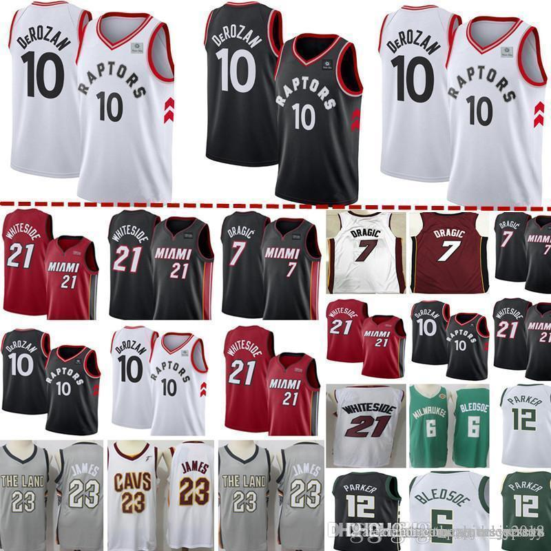84f487a4860 2019 Toronto New Raptors Jersey Mens Demar 10 DeRozan Basketball Jerseys  Jabari 12 Parker Cheap Wholesale Embroidery Logos From Topmensjersey2018,  ...