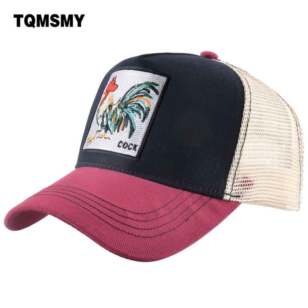4515081d8ef311 TQMSMY Summer Cotton Cock Baseball Cap Embroidery Mesh Hats For Men Women  Snapback Man Gorras Trucker Hats Hip Hop Caps DHGJ Fitted Caps Black Baseball  Cap ...