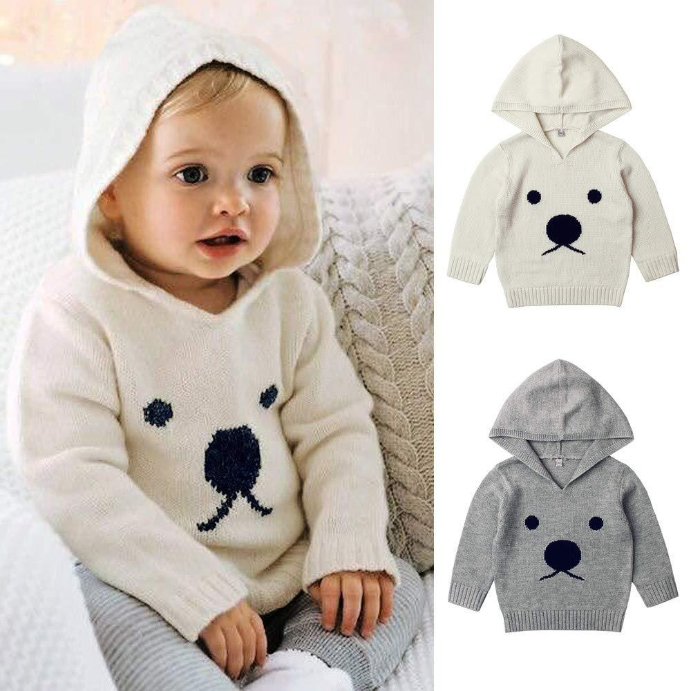 Knitted Sweater For Newborn Baby Boys Girls Clothes Infant Cartoon