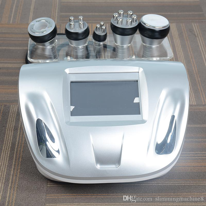 5IN1 Ultrasound cavitation vacuum slimming machine rf ultrasonic skin care body slim equipmnent tripolar RF face lifting