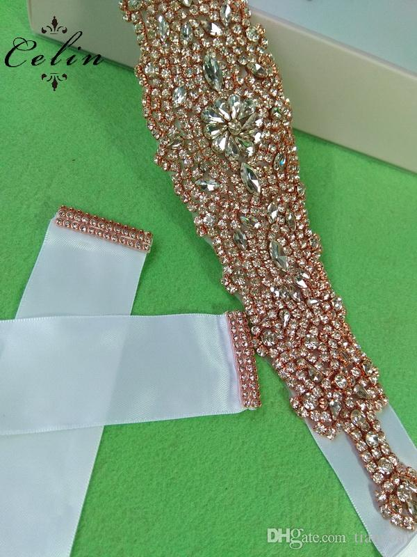Handmade Hot Fix Strass Sew On Sliver Rhinestone Applique Designs for Wedding Dress Bridal Wristbands Belts