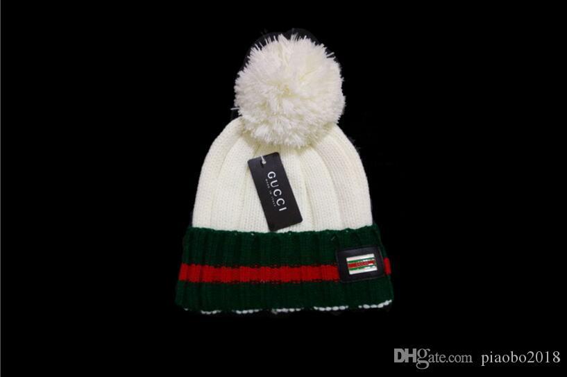 ed4a42d8411 2019 Winter Sport Outdoor Beanie For Men Women Designer Knitted Hat Fashion  Casual Luxury Beanies Caps Gorros Cotton Hat Bonnet Skull Cap Headwear  Beanies ...