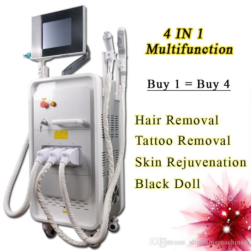 Professional SHR Laser Hair Removal Machine Nd Yag Tattoo ...