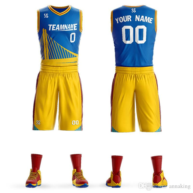 cbed76ded 2019 Wholesale Cheap Adult Youth Basketball Uniforms Custom Basketball  Jersey Team Sports Suits Custom Logo Man Uniforms Design On Line From  Annaking, ...