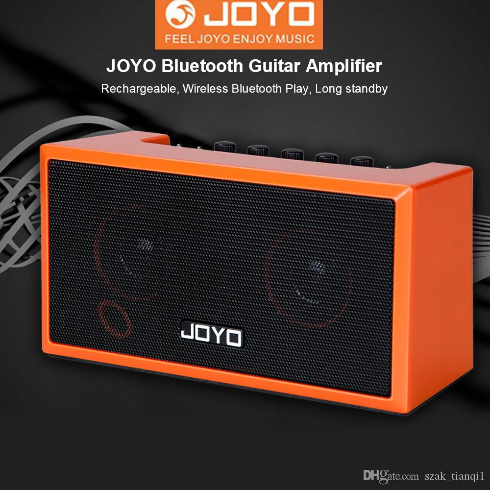 JOYO TOP-GT Guitar Amplifier Mini Bluetooth 4.0 Amp Speaker Acoustic Electric Bass Stereo Sound Rechargeable Guitar Accessories