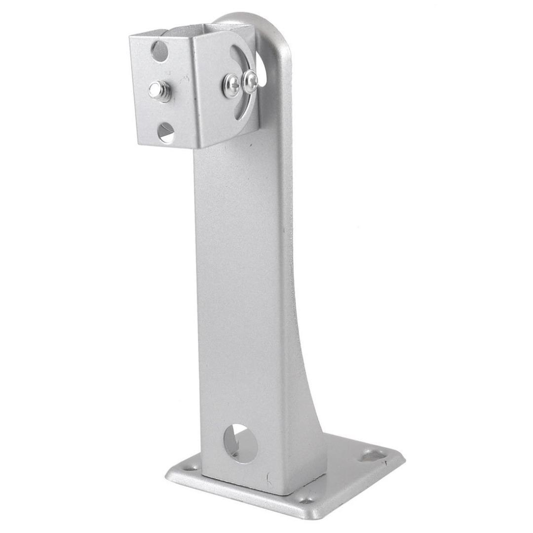 Base diameter 6.5cm High Metal Wall Ceiling Mount Stand Bracket for CCTV Camera
