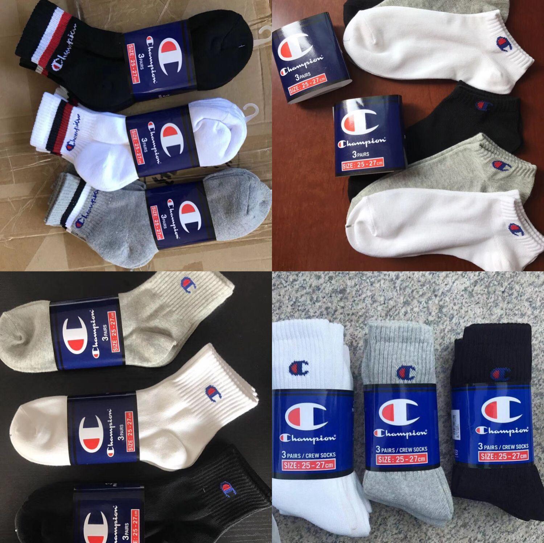 c0ebcd4273a Champion Socks Cotton Socks Sports Sock For Man And Woman Unisex ...