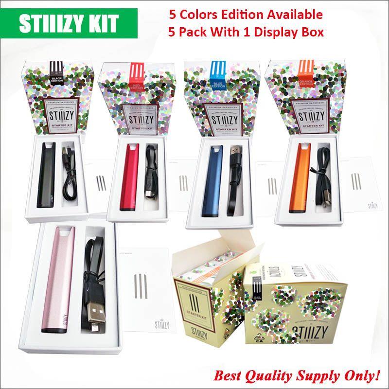 Stiiizy Vape Battery Starter Kit Excellent Performance Same Package 210mAh  Rechargeable Insert Pods Battery 100% Excellent Performance