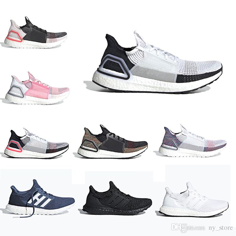 070ca3a4f3a20 2019 Ultra Boost 19 Men Women Running Shoes Ultraboost 5.0 Laser Red Dark  Pixel Core Black Ultraboosts Trainer Sport Sneaker 36 45 Mens Running Shoe  Sports ...