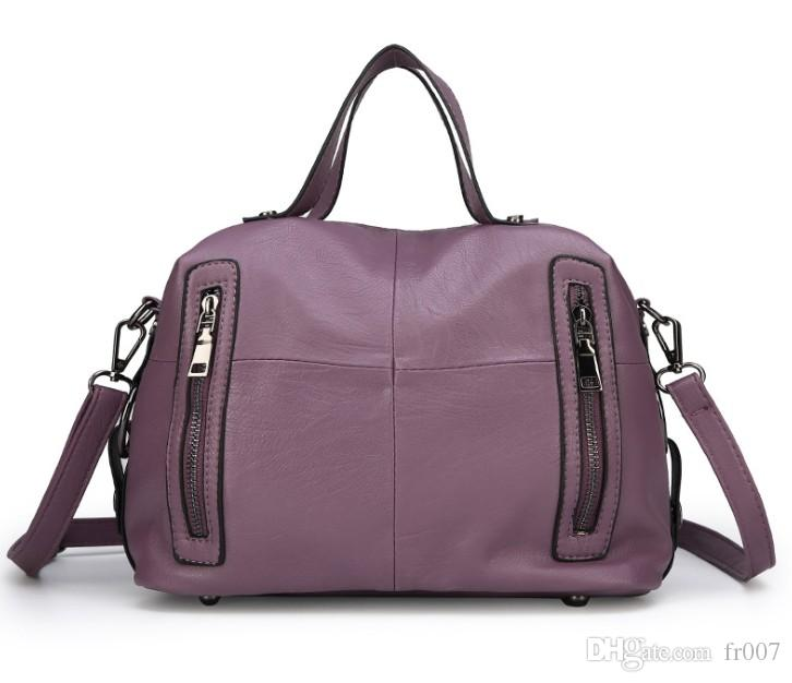 Borse di cuoio del progettista delle borse la borsa famosa del crossbody della borsa di modo delle donne 2019