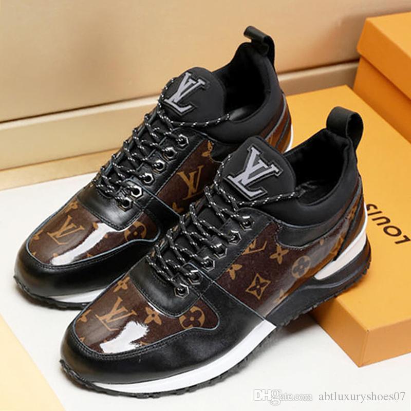 46812cea2 Compre Calçados Esportivos Para Homens Ao Ar Livre Moda Tênis Calçados Com  Caixa Original Zapatos De Hombre M # 66 Venda Quente Sapatos Masculinos  Verão ...
