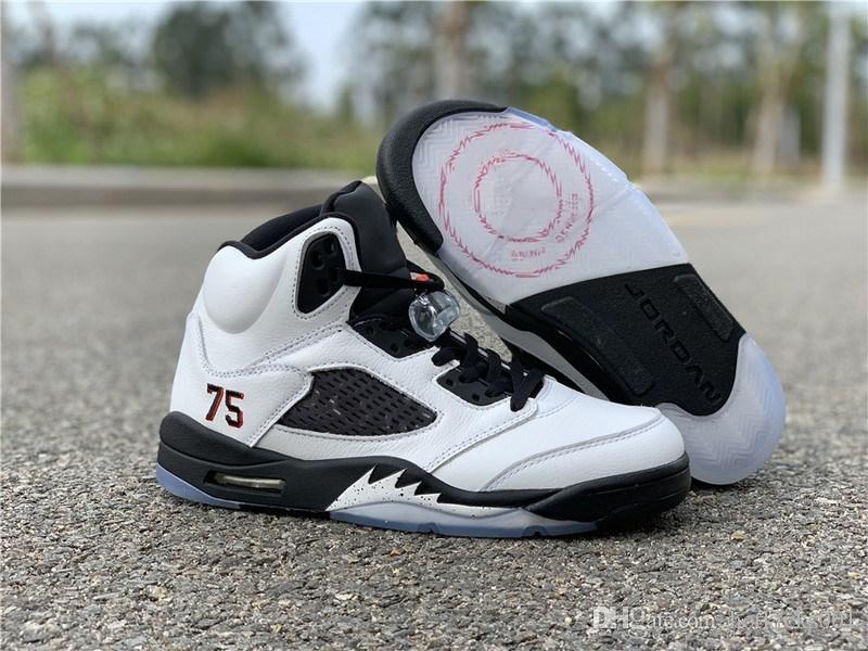 0ca89d0c97db Top Quality Basketball Shoes Friends Paris Saint Germain White Black  Metallic Silver AV9175 101 Mens Sneakers Sale With Original Box Shoes  Online Walking ...