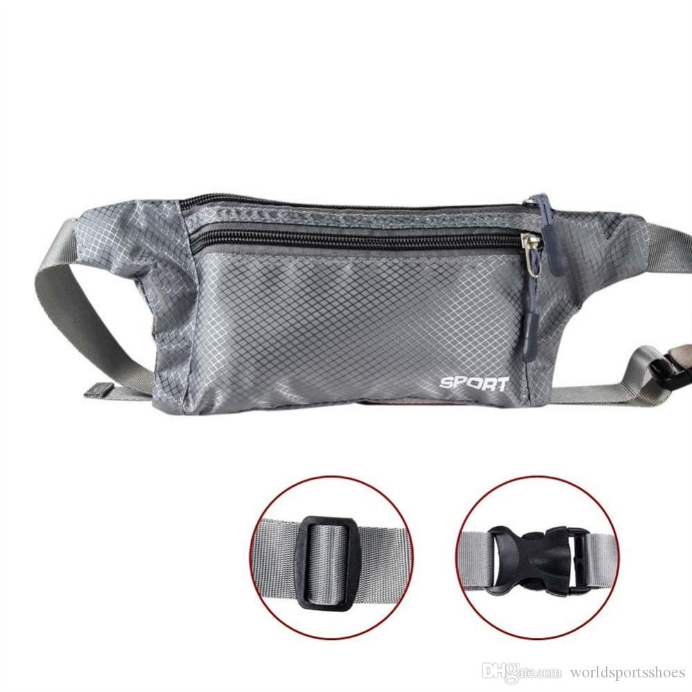 Adjustable Belt Bags Travel Pouch Zippered Waist Compact Security Money Phone Tablet Waist for Men Women Promotion #695910