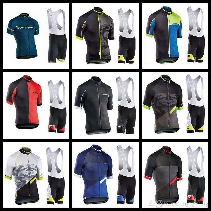 af2573d79 NW 2019 Pro Team Cycling Jersey Northwave Men Short Sleeve Bicycle Set  Breathable Outdoor Riding Clothes Bike MTB Clothing 120401Y Bike Pants Bike  Wear From ...