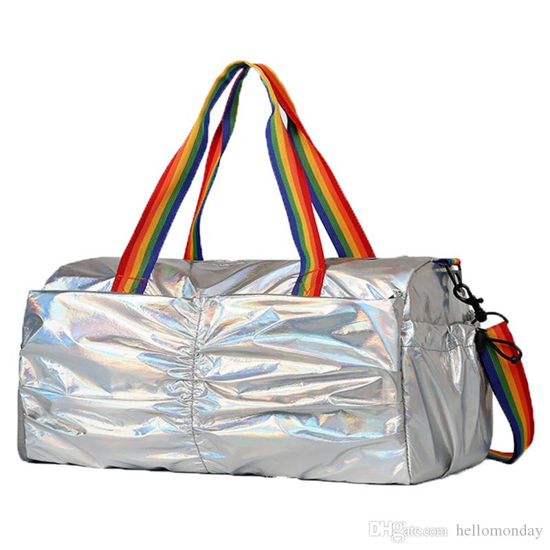 Weekender Travel Duffel Bag Sports Gym Laser