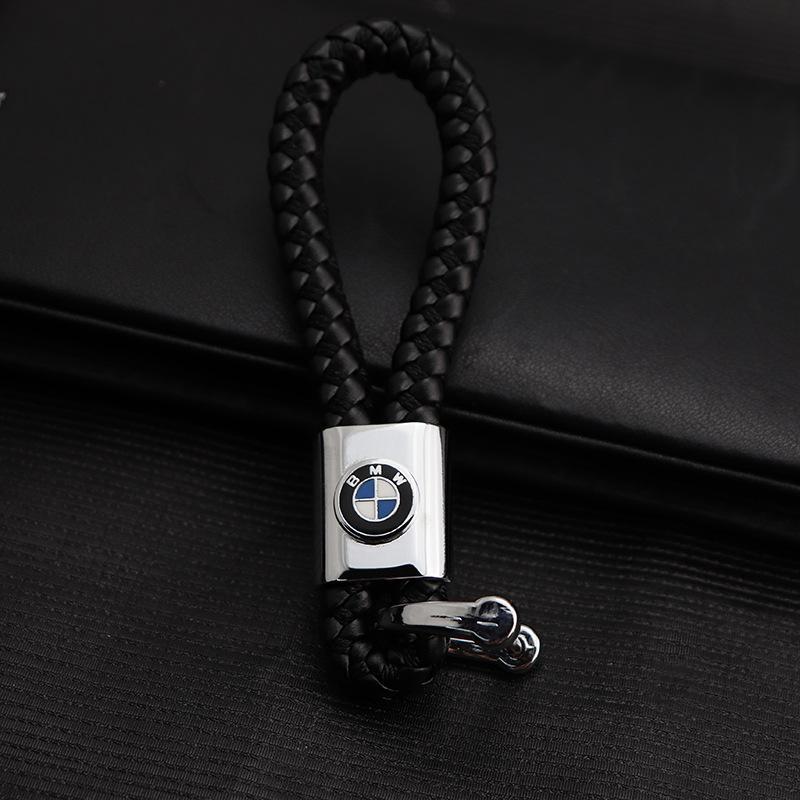 2 Pieces 3D Metal Car Logo Keychain Keyring Key Chain Auto Key Ring Holder  For BMW Audi Lexus Jeep Opel Mazda Keyfob Car Styling Accessories
