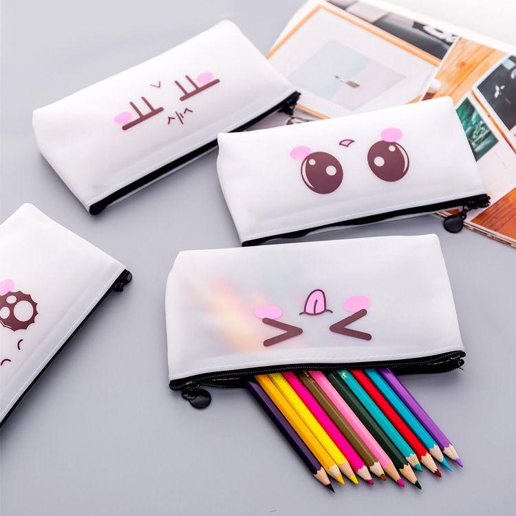 21511fffe2 Cute Emoji Pencil Bag Kids Kawaii Cute Emoji Pencil Bag Kids Pencil Case  School Supplies Gift