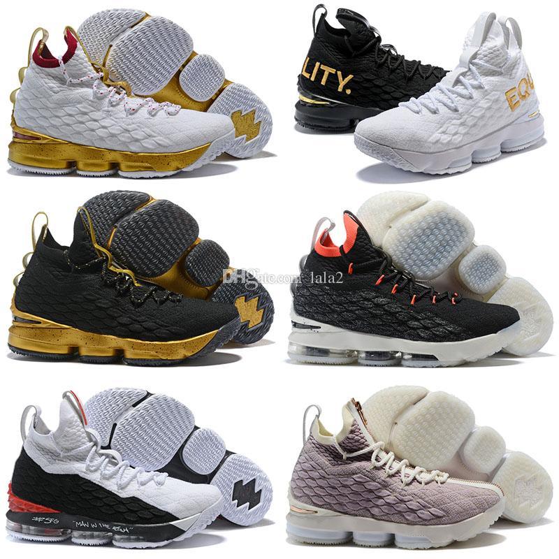 get cheap e9ccc 25f09 LeBron 15 15s Basketball Shoes Sneakers Grey XV 2018 MVP Equality BHM  Graffiti Hardwood Suit Armor Fruity Ksa Lmtd Kith Ashes Luxury Shoe