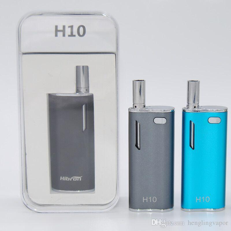 wholesale H10 Kit Oil Vape pen Box Mods 650mAh Battery Mystica Vaporizer With Magnetic Connection 0.8ML Electronic Cigarettes