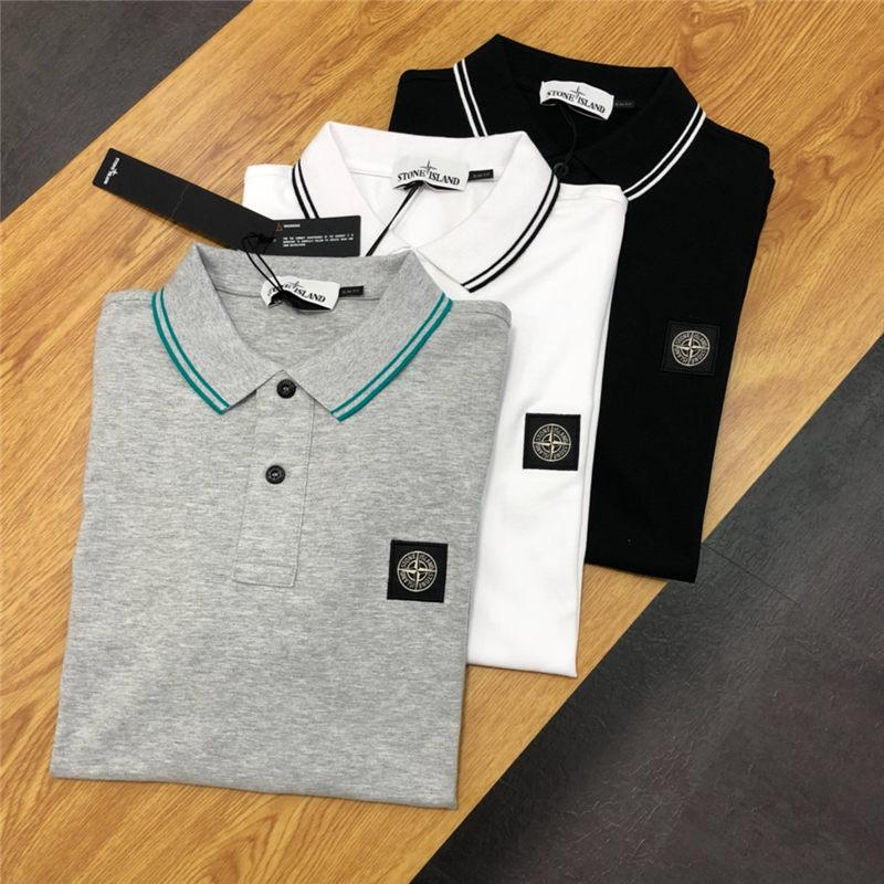8c662955d6c 2019 Men Designer Polos Summer Brand Polo Shirt Loose Embroidery Patterns  Fashion Style Mens Casual Shirt Size M 2XL From Clothing19