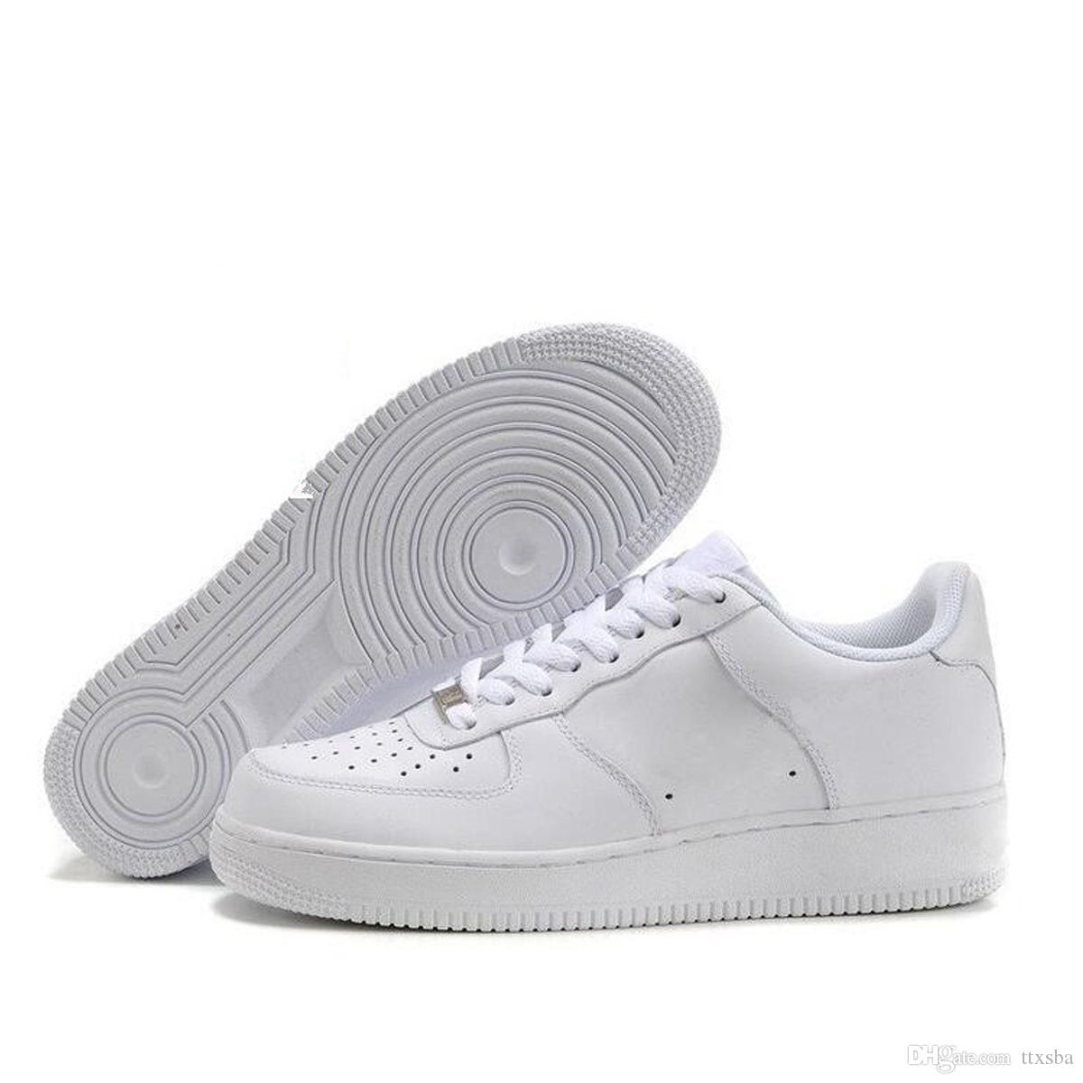 descuento Mujer Nike Air force 1 low zapatillas negras