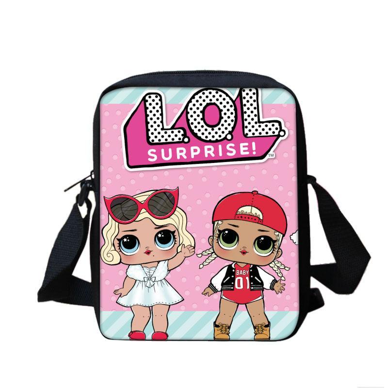 9e46b925d3 Cartoon Kids Children Mini Messenger Bags Girl LOL Dolls School Bag Satchel  For Girls Crossbody Shoulder Bags Clutch Pouch Ivanka Trump Handbags  Western ...