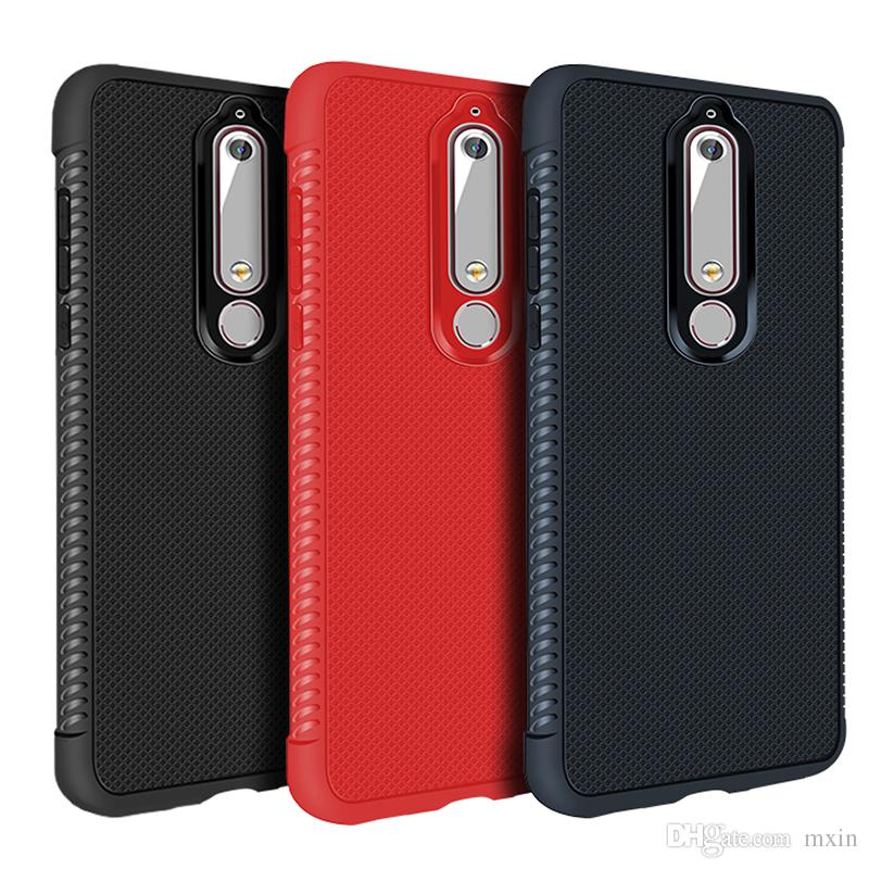 best loved 6ce60 df5a9 Heat Dissipation Honeycomb Soft TPU Shockproof Case For Nokia 3 5 8 6 2018  OPPO F3 F5 A59 A71 A37 A83 A79 F7 A3 A3S A5 A5S Realme 1 2 Pro F9
