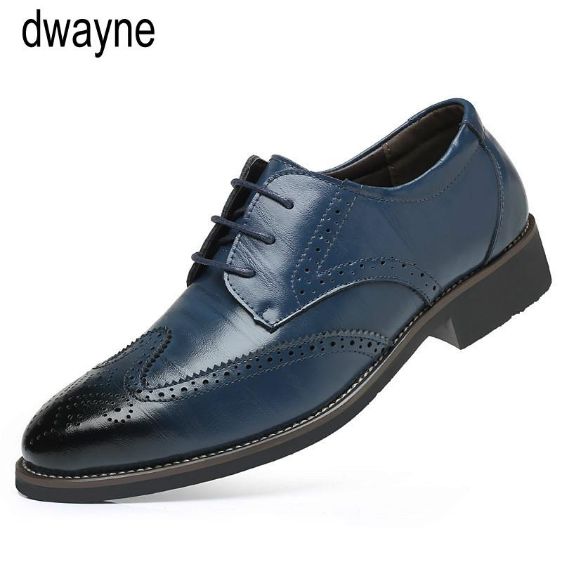 Shoes Summer Mesh Spring Leather Dress Shoes Breathable Men Formal Business Oxfords Plus Size 38-48 For Sale Men Dress Shoes