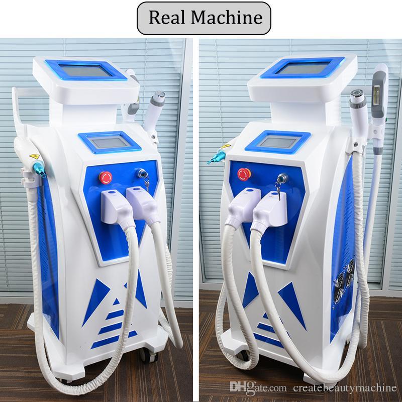 La macchina di bellezza di ringiovanimento della pelle di Elight della depilazione del laser del raggio del laser di deviazione del laser del ND Yag ha approvato il CE