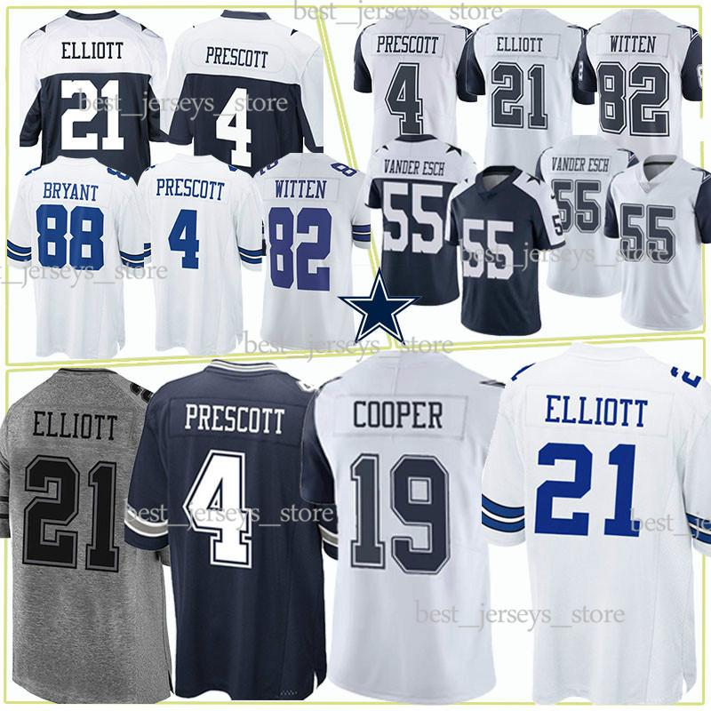 ff3200fab 2019 Dallas Jerseys Cowboys 21 Ezekiel Elliott 19 Amari Cooper 55 Leighton  Vander Esch New Jersey 2019 Top MEN Shirt From Best_jerseys_store, ...