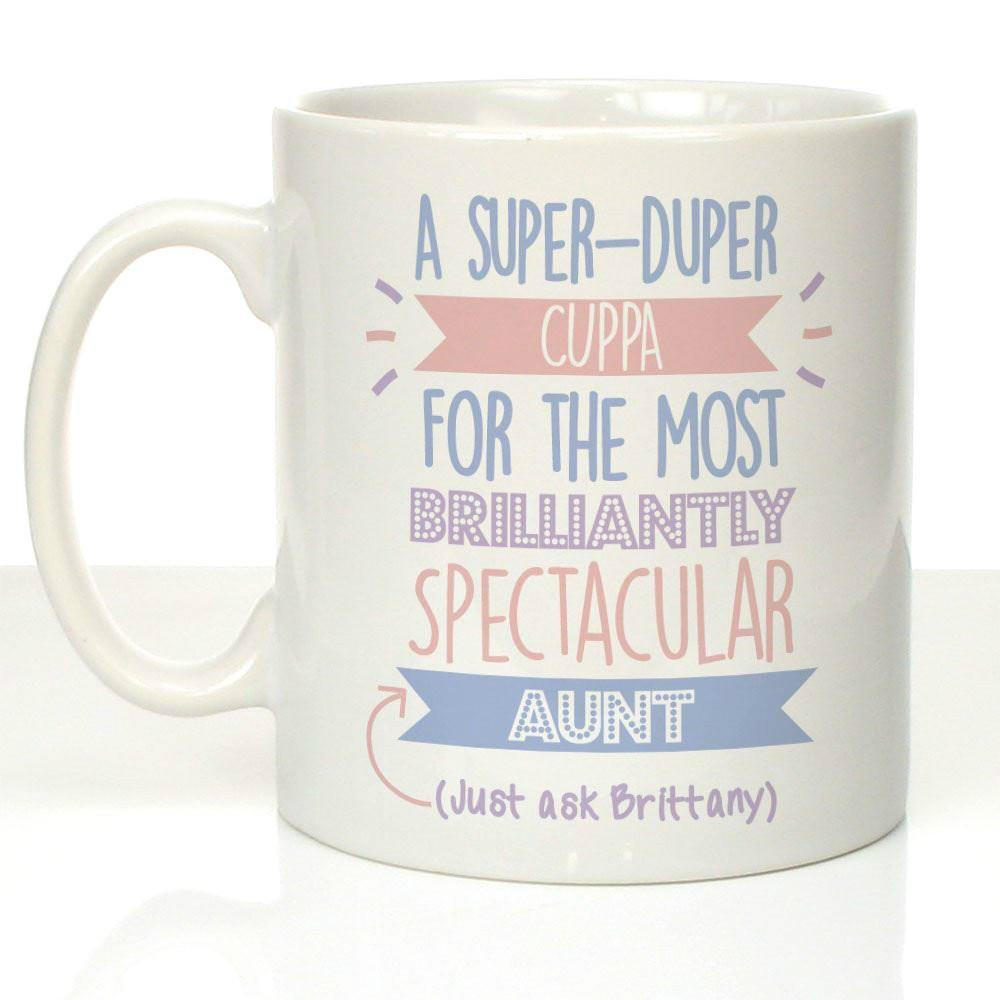 Personalised Best Aunt Just Ask Mug Auntie Birthday Presents Gifts Cool Mugs For From Lgqin 1006