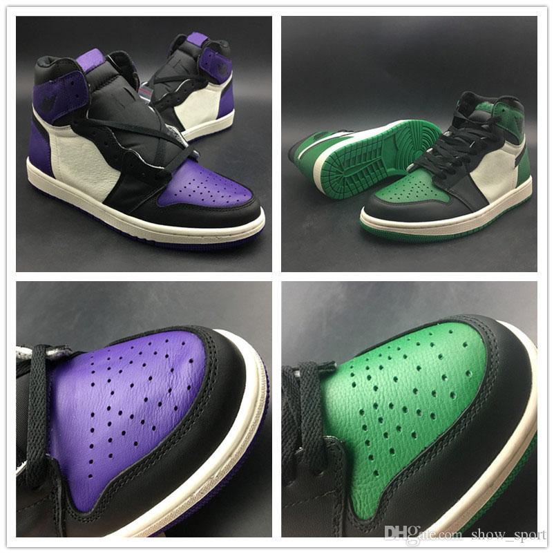 617a51cb5eb53 Compre Nike Jordan 1Zapatillas De Baloncesto 1 OG High Bred Toe Zapatillas  De Baloncesto Con Punta Negra Para Hombre OG 2.0 Chicago Zapatillas De  Correr ...