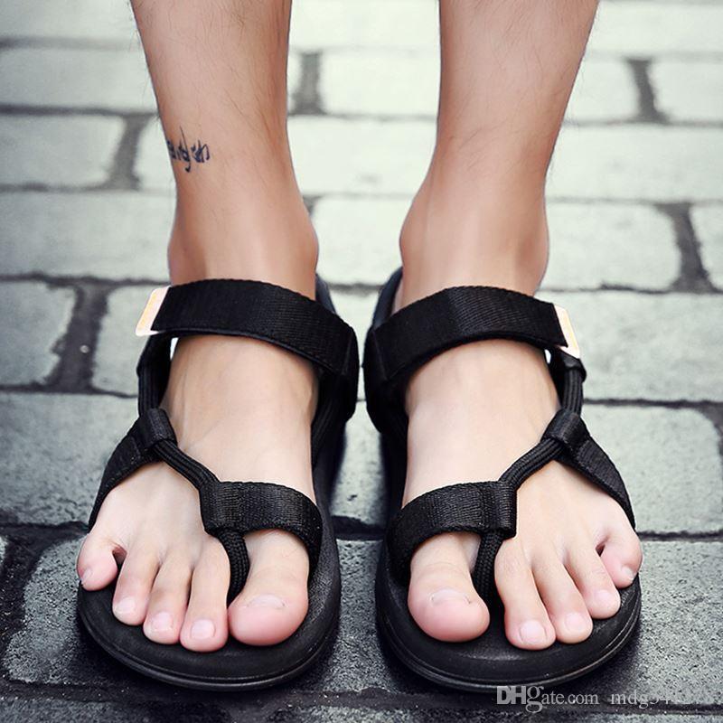f67691b6497 Summer New Men s Sandals Vietnamese Sandals Outdoor Unisex Couple ...