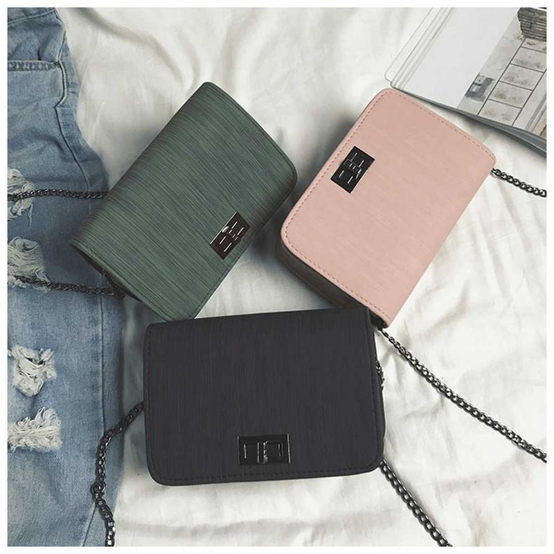 272ccb1237 Women Fashion Small Crossbody Bags Korean Style Mini Square Solid Color Pu Shoulder  Messenger Bag All Matched Simple Hand Bags Leather Backpack Clutch Bags ...