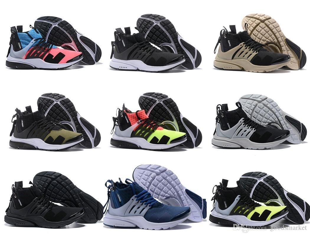 Mens Zapatillas Sneakers New 11 Sports Racer Pink Prestos Trainers X Mid Homme Running Acronym Presto Chaussure Shoes Designer Us7 Black wO0Pkn