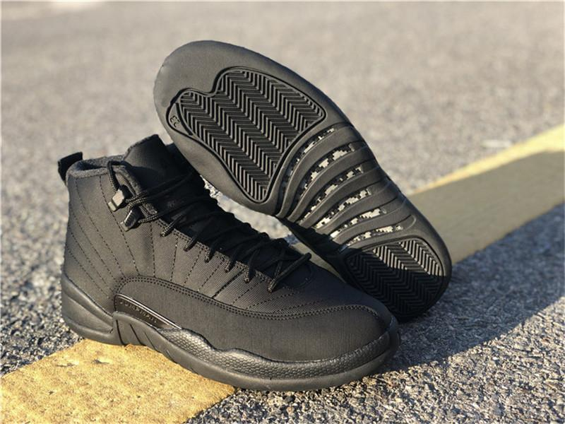 ffe15d76aba901 US7 13 Release Boots Air 11Jordan 12 Winterized Retro MAn 12S Basketball  Shoes WNTR BQ6851 001 Real Carbon Fiber Leather Authentic With Box Ladies  Boots ...