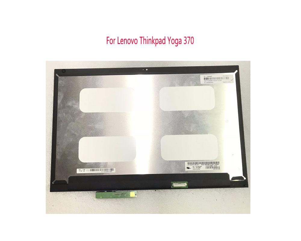 For Lenovo Thinkpad Yoga 370 FHD LCD Display Touch Screen Glass Digitizer  Assembly