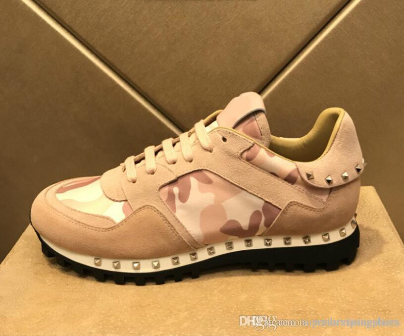 068e824d262b Perfect Rockrunner Camouflage Leather Sneakers Rock Runner Trainer Shoes  Camo Stud Casual Outdoor Sports Trainers Shoes Sneakers Shoes Casual Shoes  Online ...