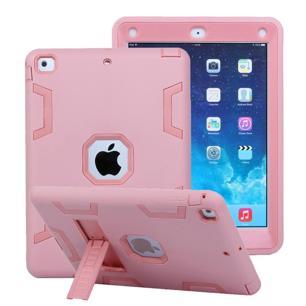 the best attitude 41f06 e57fa Shockproof Case for iPad Air 1 Air1 5 9.7 inch Kids Armor Heavy Duty  Silicone Hard Protective Case Cover for iPad Air 1