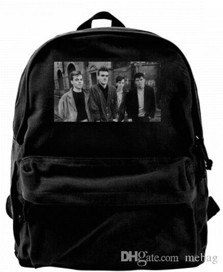 The Smiths Portrait Classic Rock Band Fashion Canvas Designer Backpack For  Men   Women Teens College Travel Daypack Leisure Bag Jansport Big Student  ... 36e790d5db