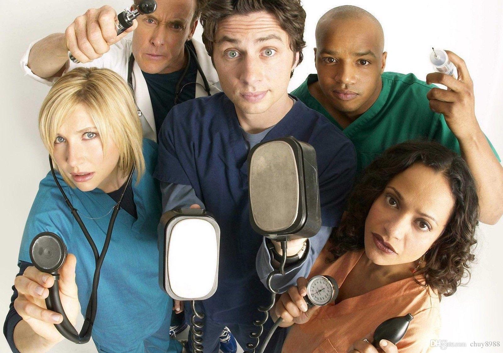 Scrubs tv show cast think, that