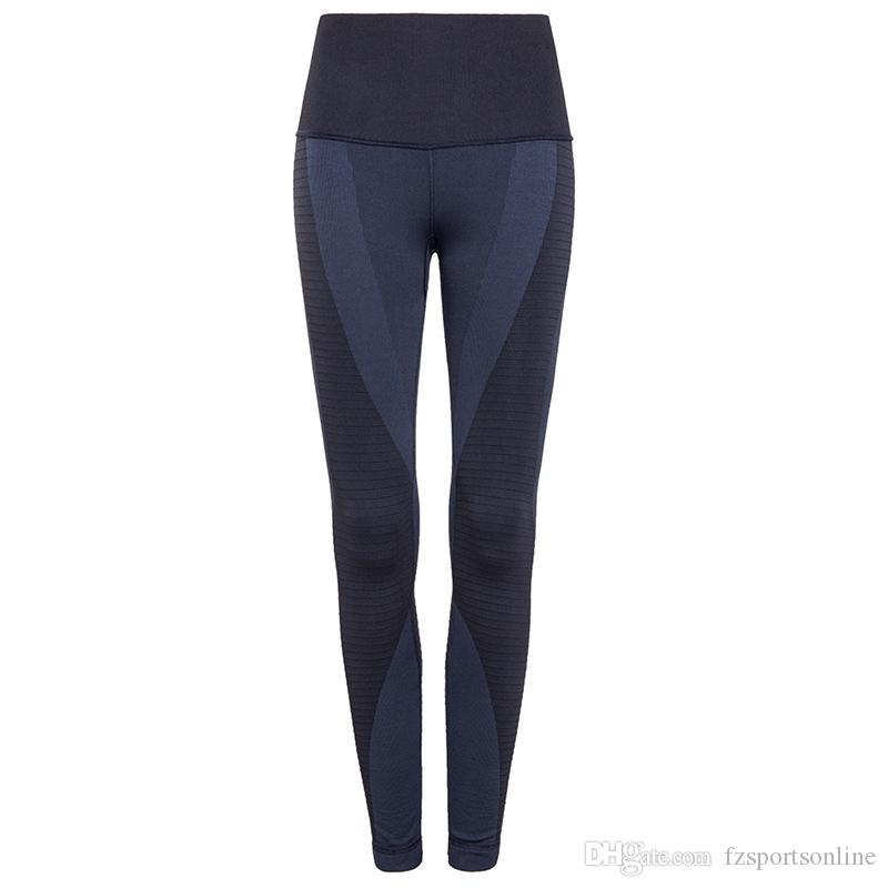 72d8061f5c6af 2019 BINAND Women Elastic Tights High Waist Sweat Wicking Sports Slim  Fitness Profession Workout Yoga Quick Dry Running Leggings #328381 From  Fzsportsonline ...