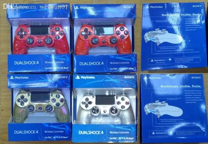14 farben PS4 Wireless Controller Für Sony PlayStation 4 Game System Gaming Controller Spiele Joystick mit Logo Kleinkasten
