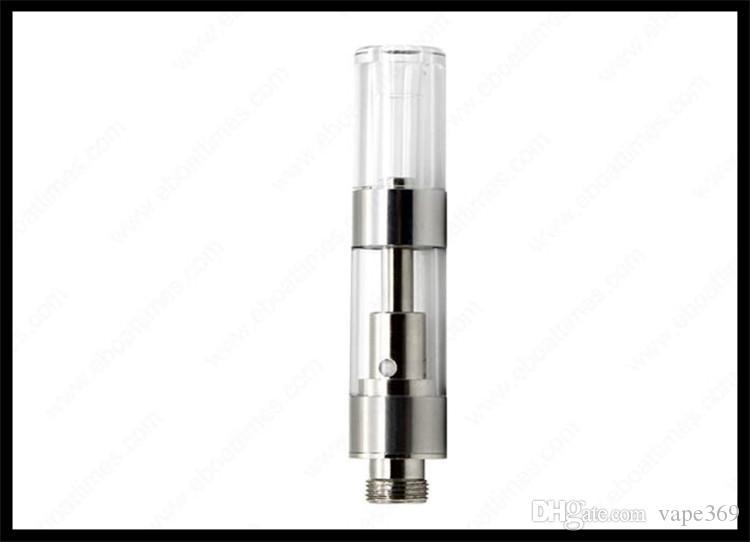 disposable ceramic cartridge vape pen atomizer thick oil vape juice  vaporizer tank press tip clear mouthpiece vaporizer thick oil smoking