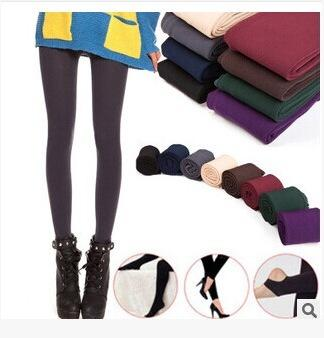 8styles Girls Warm Knitted Cable Leggings Slim Leg Spring Autumn Pants lady girl pants Solid Stretchy Fitness sports Casual pants FFA1426