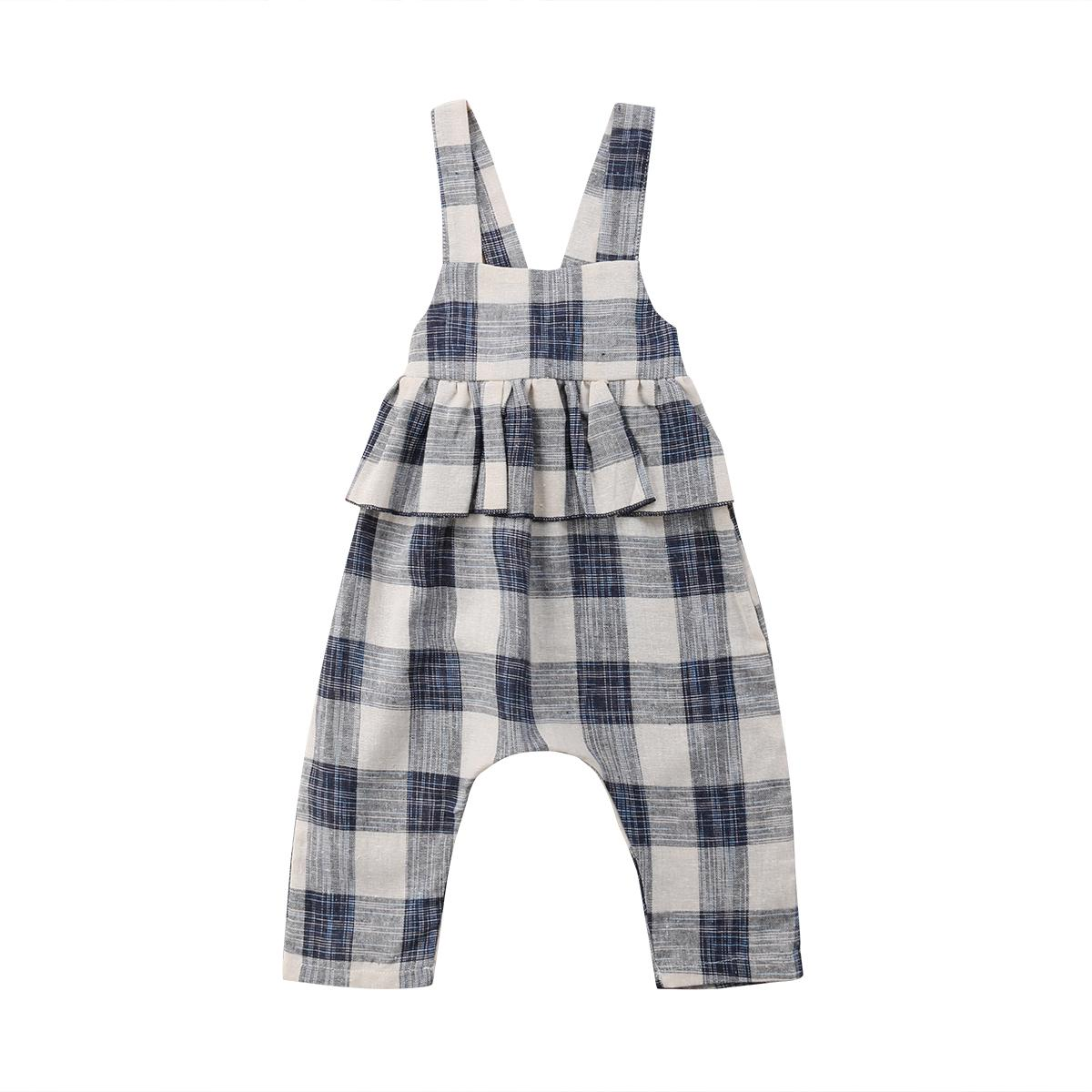 Overalls Mutter & Kinder Mode Kinder Mädchen Strap Blume Overalls Sleeveless Strampler Overall Overall Outfit One Piece Kleidung