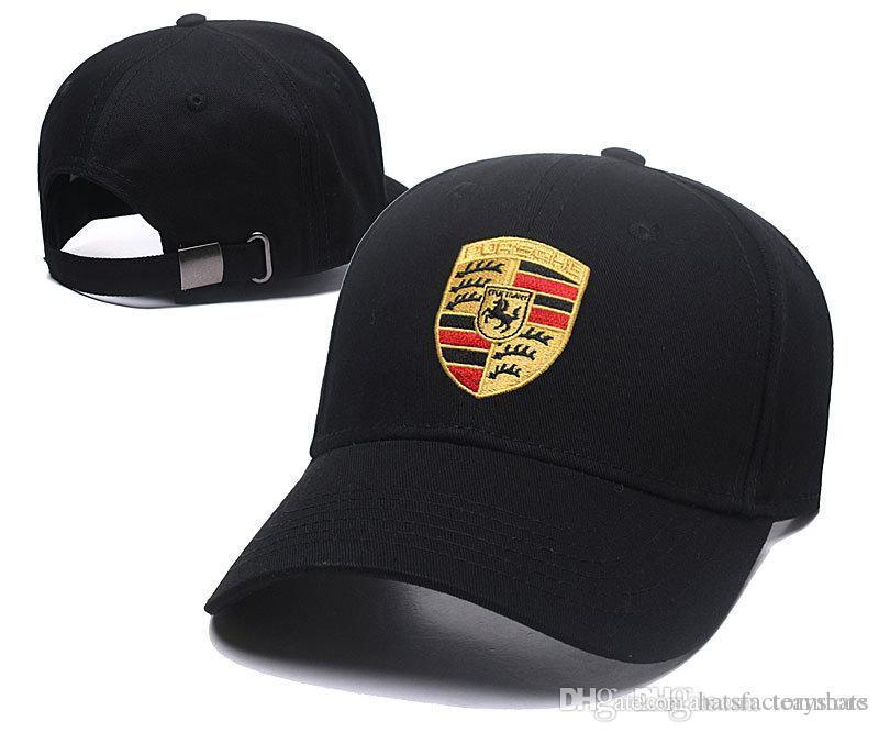 98b8356c7d2 Wholesale Black Cap Embroidery Golf Bone Adjustable Snapback Hat Outdoor Summer  Men Car Truck Caps Visor Cheap Casquette Women Baseball Cap Customized Hats  ...