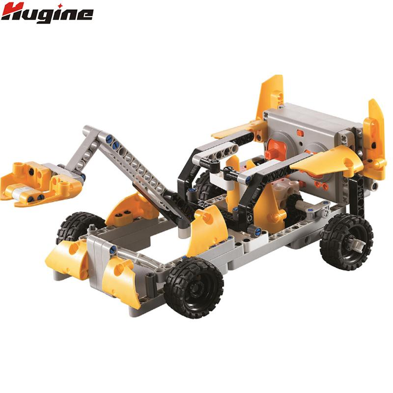 wholesale Remote Control Building Block Car 2.4G Wasp High Speed Car Model 4WD Puzzle Children's Toys Variety Model Children Hobby Toy